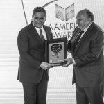 El #MexicoGP como  Mejor Promotor del Año en la entrega de los FIA America's Awards 2017.