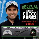 """Anuncian que nuevamente habrá """"Grada Checo Pérez"""" para el FORMULA 1 GRAN PREMIO DE MÉXICO 2017™"""