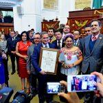 """Nombra ALDF a Alejandro Soberón como """"Embajador Turístico de la CDMX"""""""