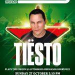 Los beats de DJ Tiësto encenderán el FORMULA 1 GRAN PREMIO DE MÉXICO 2019™