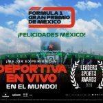 El FORMULA 1 GRAN PREMIO DE MÉXICO™ triunfa como la mejor experiencia deportiva en vivo en el mundo