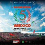 ¡DAME ESOS 5, MÉXICO! El FORMULA 1 GRAN PREMIO DE MÉXICO™ rompe su propio récord